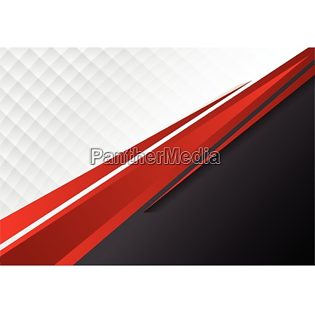 template corporate concept red black grey