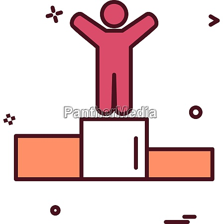 positionssymbol vektordesign
