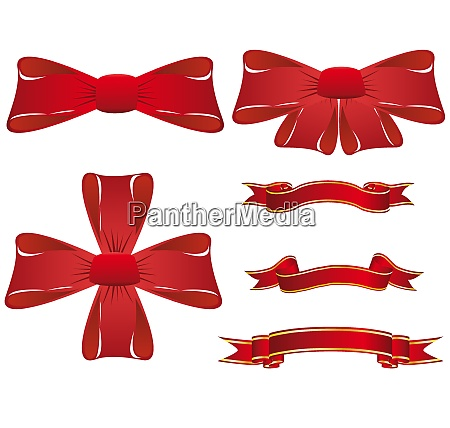 set von verschiedenen vektor weihnachtselemente fuer