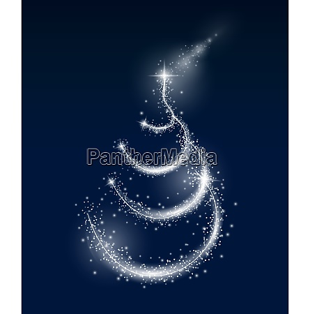 abstract christmas and new year background