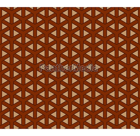 geometric chinese seamless vector pattern