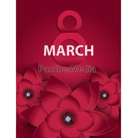 poster international happy women s day