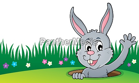 lurking easter bunny topic image 4