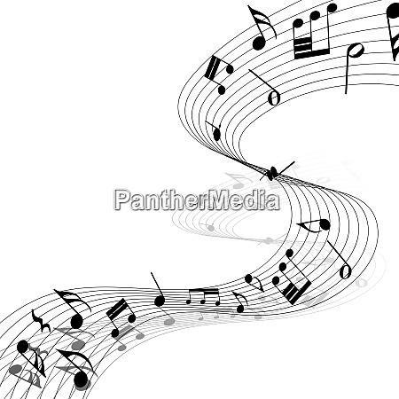 musikalische design elemente von musik personal