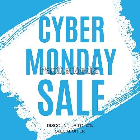 cyber monday sale angebote design vorlage