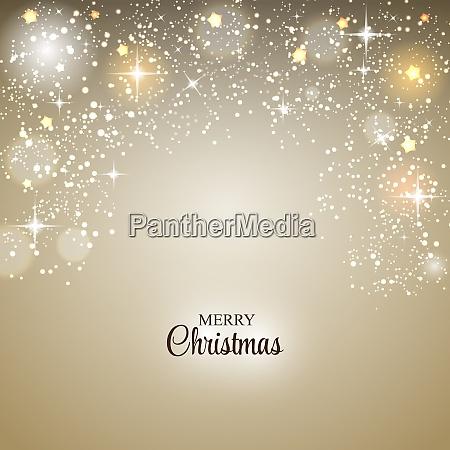 weihnachten glaenzend stern hintergrund vektor illustration