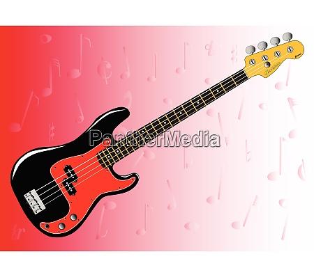 bass gitarre hintergrund