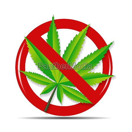 abstract cannabis on background vector illustration