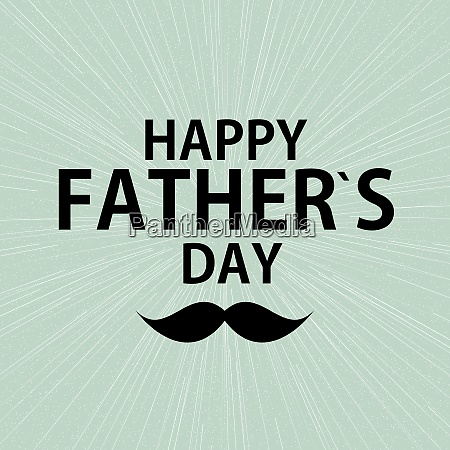 happy father es day poster card