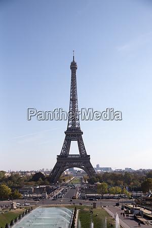 eiffelturm symbol von paris frankreich paris