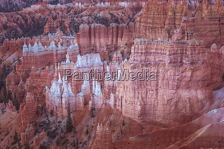 usa utah rock formations at bryce