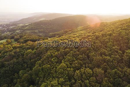 OEsterreich niederoesterreich wienerwald biosphaerenreservat wienerwald luftaufnahme