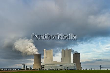 deutschland grevenbroich modernes braunkohlekraftwerk neurath ii