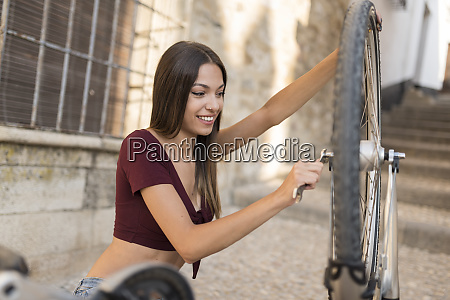 spain baeza portrait of smiling young