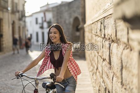 spain baeza portrait of happy young