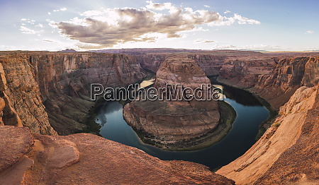 usa arizona panoramic view of bendhorse