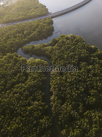 indonesia bali aerial view of a