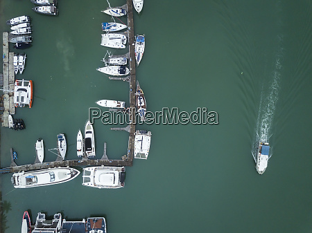 indonesia bali aerial view of mooring