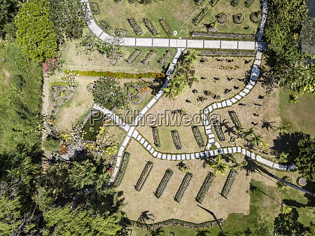 indonesia bali aerial view of sanur