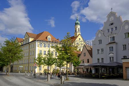 deutschland landshut kloster ursiline und kirche