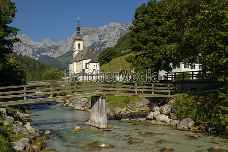 germany bavaria berchtesgadener land parish church