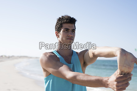 spain canary islands fuerteventura young man