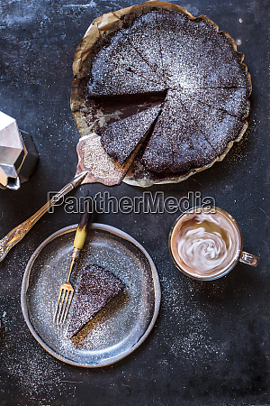 swedish kladdkaka dark chocolate cake swedish