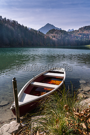 germany bavaria east allgaeu fuessen alatsee