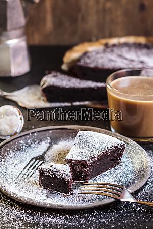 swedish kladdkaka dark chocolate cake swedish