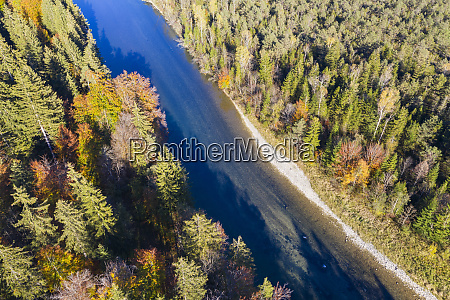 germany upper bavaria isar river nature