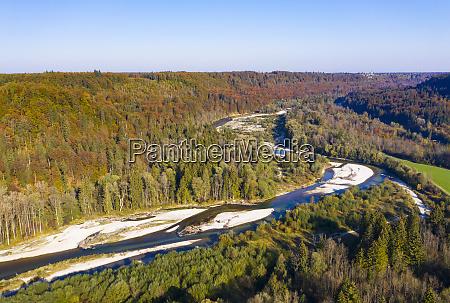 germany upper bavaria isar river nature