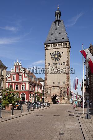 germany rhineland palatinate speyer city gate