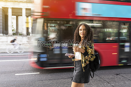 uk london young woman on the