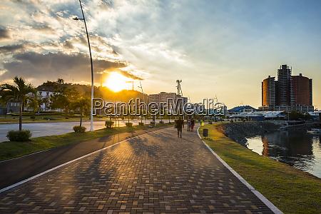 panama panama city casco viejo promenade