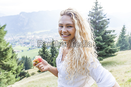 germany bavaria oberammergau portrait of smiling