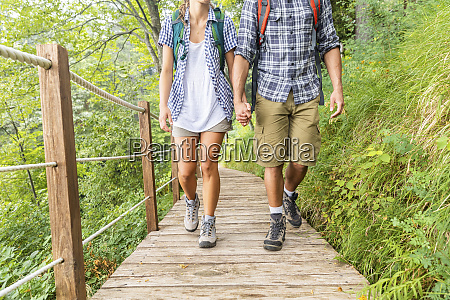 italy massa legs of young couple