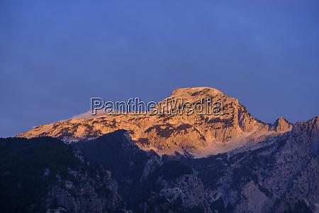 albanien shkoder county albanische alpen theth