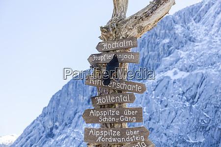 germany upper bavaria garmisch partenkirchen alpspitze