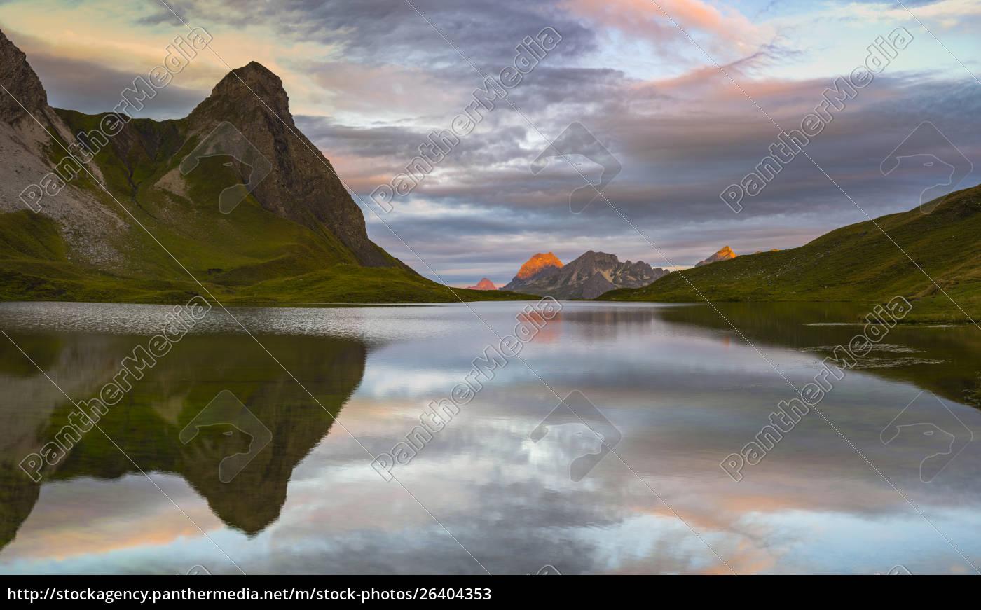 germany, , bavaria, , allgaeu, , allgaeu, alps, , lake - 26404353