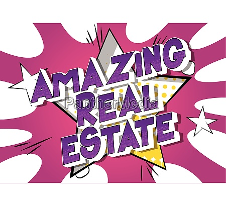 amazing real estate comic book
