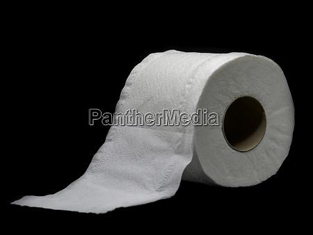 tissuepapier mit rollenkern rolle toilettenpapier isoliert