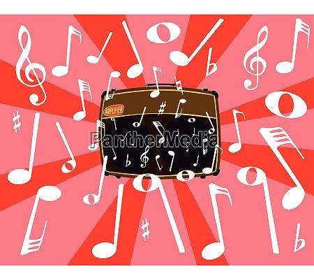 musikalische geraeusche