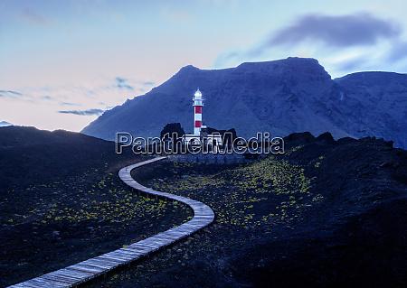 faro de teno lighthouse punta de