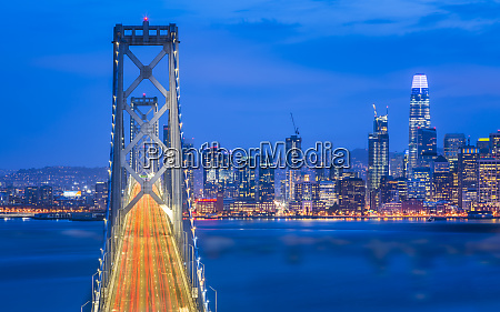 view of san francisco skyline and