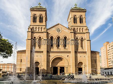 the metropolitan cathedral of medellin medellin