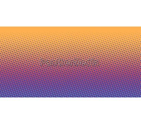 orange blue gradient halftone background