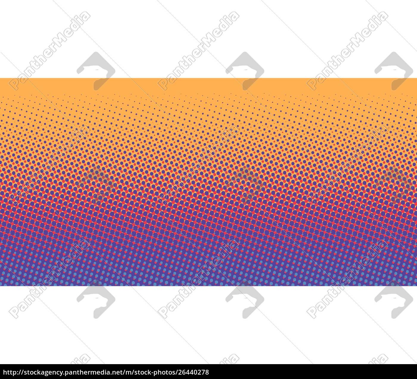 orange, blue, gradient, halftone, background - 26440278