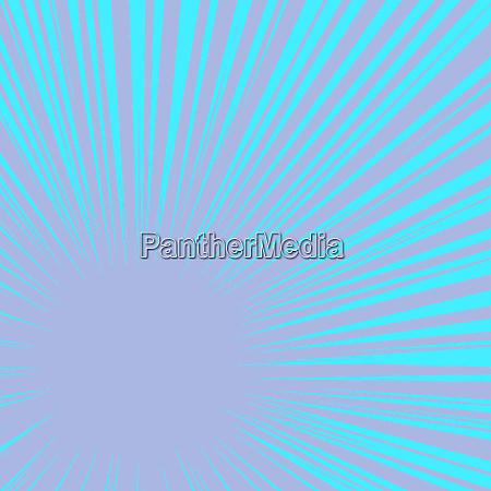 blue rays pop art background