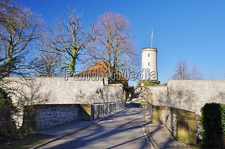 touristenattraktion sparrenburg bielefeld ostwestfalen lippe nordrhein