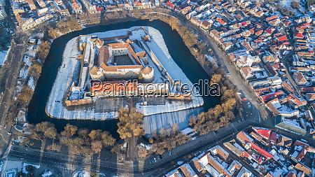 fagaras fortress transylvania romania